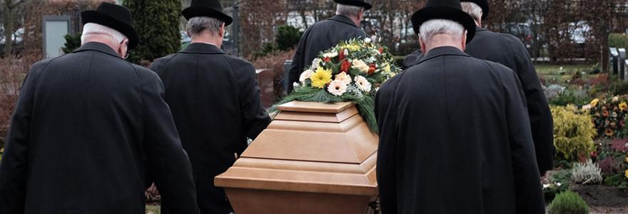 Prendre en charge un enterrement